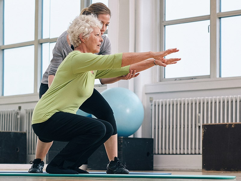 Effective stroke therapy workouts